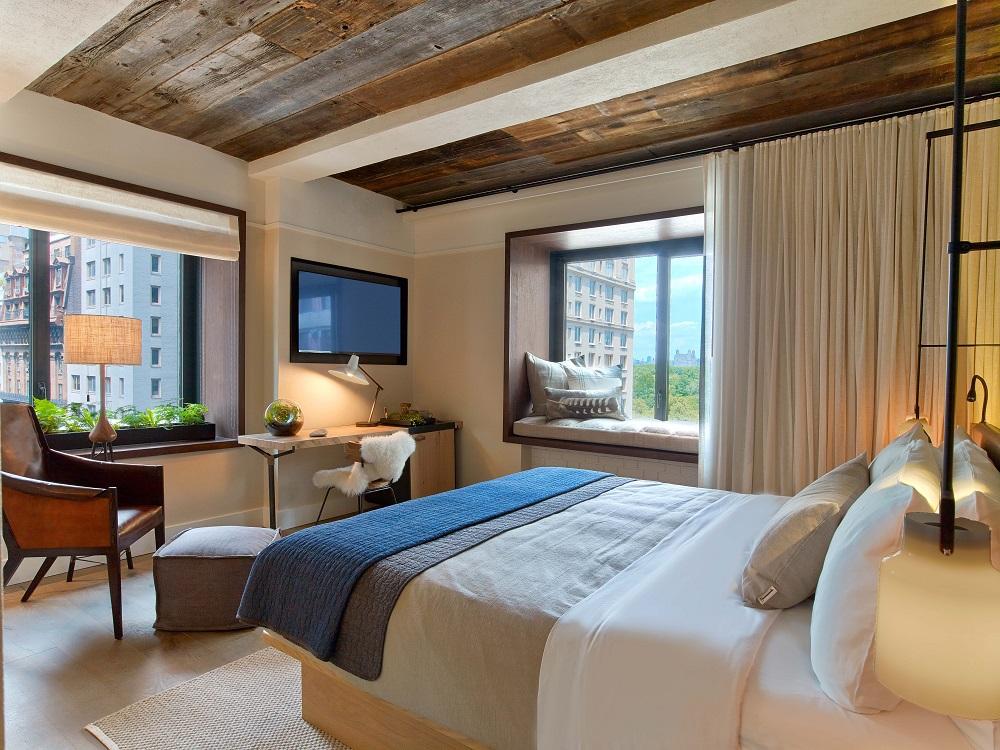 1 Hotel Central Park/曼哈頓/紐約住宿/美國/環保旅宿/客房