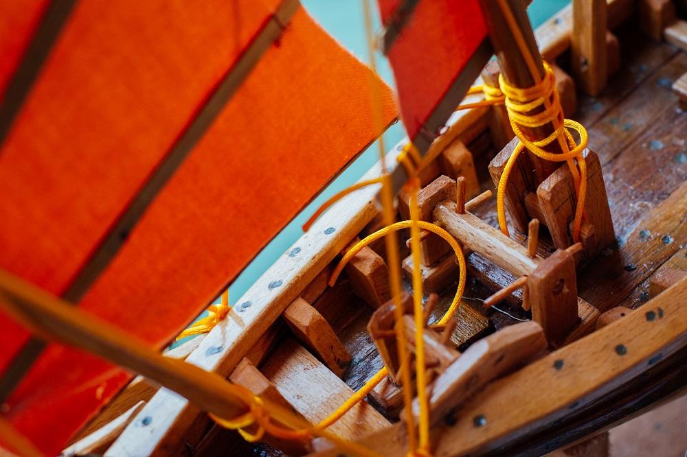 裝船佬泉叔/造船工業/船模型/航海時代/澳門