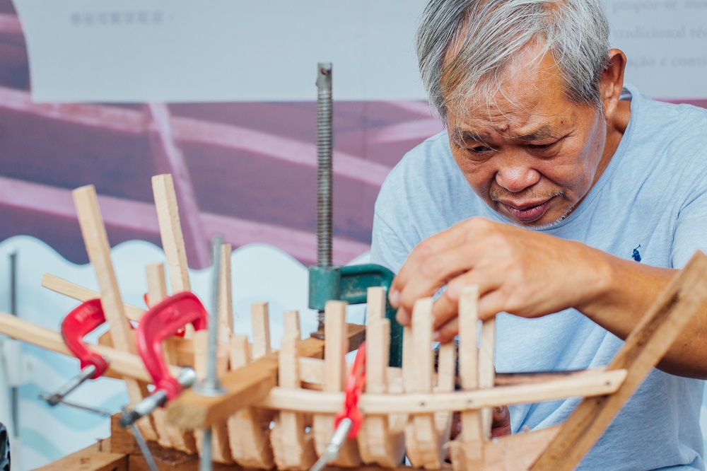 裝船佬泉叔/造船工業/船模型/航海時代/澳門/木作工藝