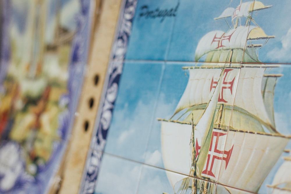 西美斯國際貿易有限公司/澳門/葡式青花磚/葡國磚/帆船