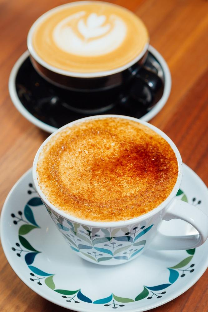 勺子雜貨咖啡館/台北/松山區早午餐/沖繩黑糖拿鐵咖啡/手沖咖啡