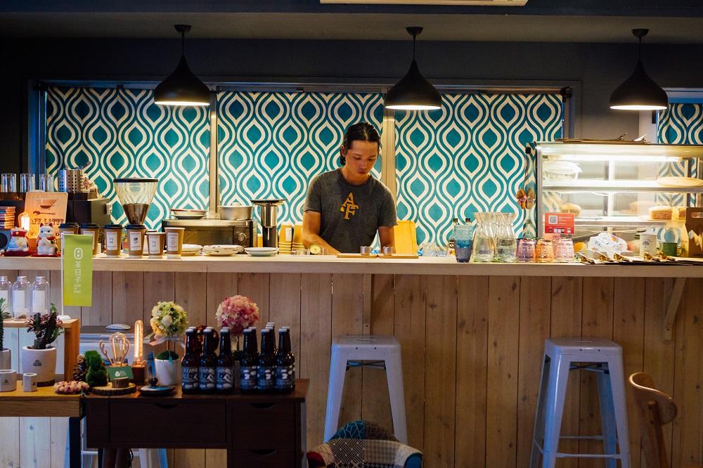 勺子雜貨咖啡館/台北/選物店/內部裝潢