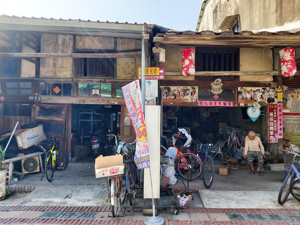 台南,後壁,菁寮老街