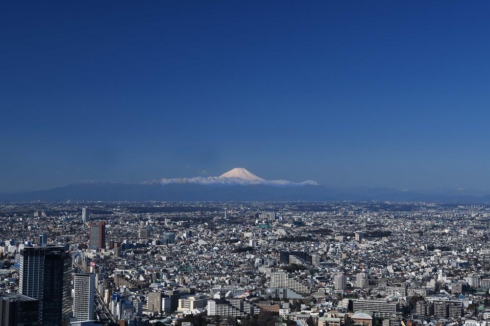 SHIBUYA SKY/東京/澀谷最高地標/遠眺富士山/東京日景/東京夜景