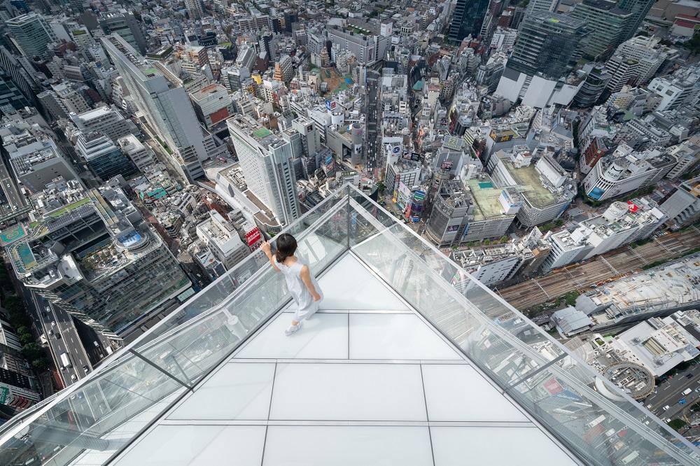 SHIBUYA SKY/東京/澀谷最高地標/天空邊緣/SKY EDGE/十字交叉路口