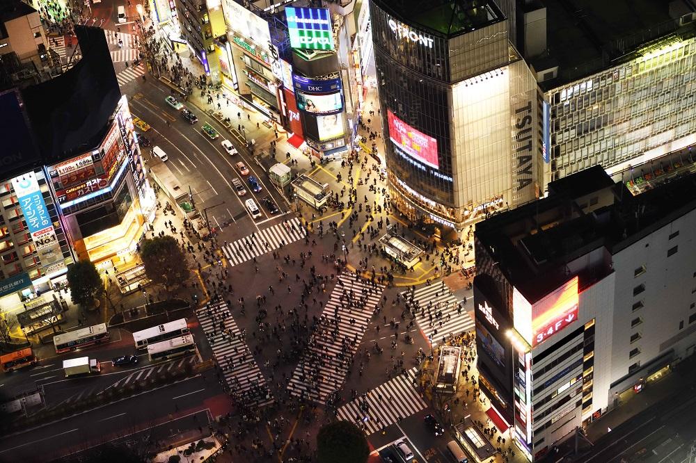 SHIBUYA SKY/東京/澀谷最高地標/東京夜景/澀谷十字交叉路口