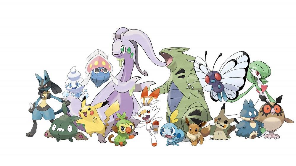 寶可夢 劍/盾/極巨化/pokemon/炎兔兒/敲音猴/淚眼蜥/巨寶可夢