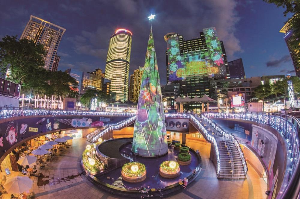 新北耶誕城/板橋耶誕城/聖誕樹/2019耶誕/打卡必收/網美集散地