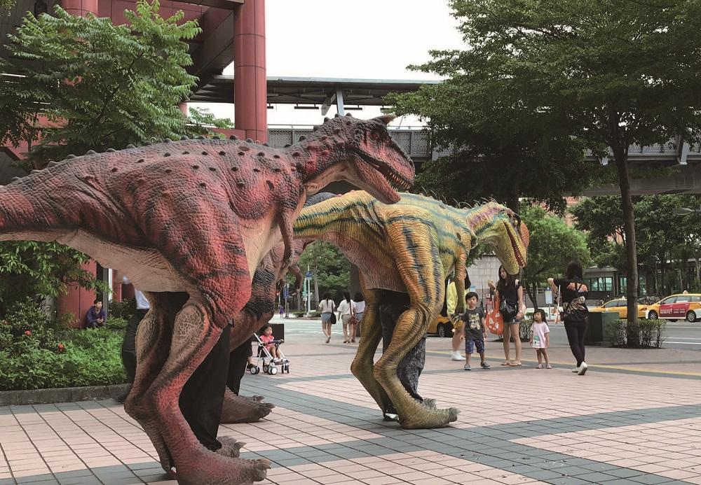 麗寶樂園/侏儸紀恐龍互動冒險園區/實境射擊遊戲/叢林冒險/親子旅遊