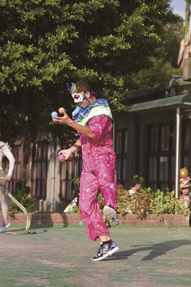 板橋435藝文特區/台灣玩具博物館/小丑/雜耍