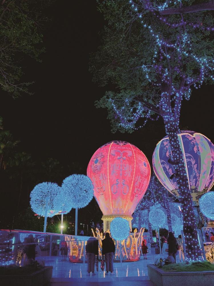 高雄/打卡景點/約會聖地/聖誕出遊/熱氣球/點燈