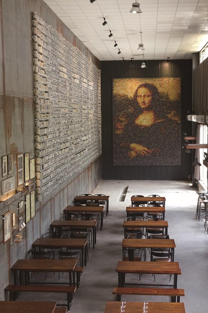 啤酒主題博物館/恆春3000/酒標蒙娜麗莎像/深夜小食堂