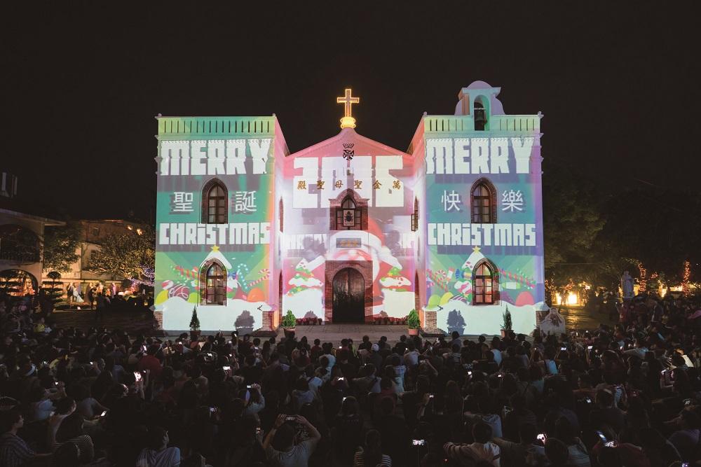 萬金聖母聖殿/全臺最古老的天主教建築/聖母遶境/萬金聖誕季/聖誕晚會