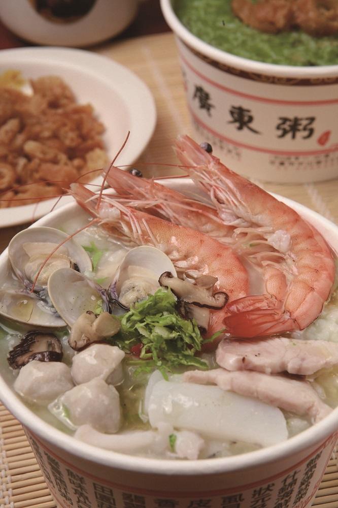 廣東粥/海鮮粥/花蓮/東大門夜市/東大門必吃