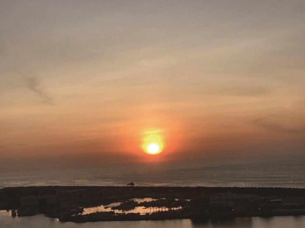 福容大飯店花蓮店海景房/太平洋/夕陽/2020年的第一道曙光/看日出跨年