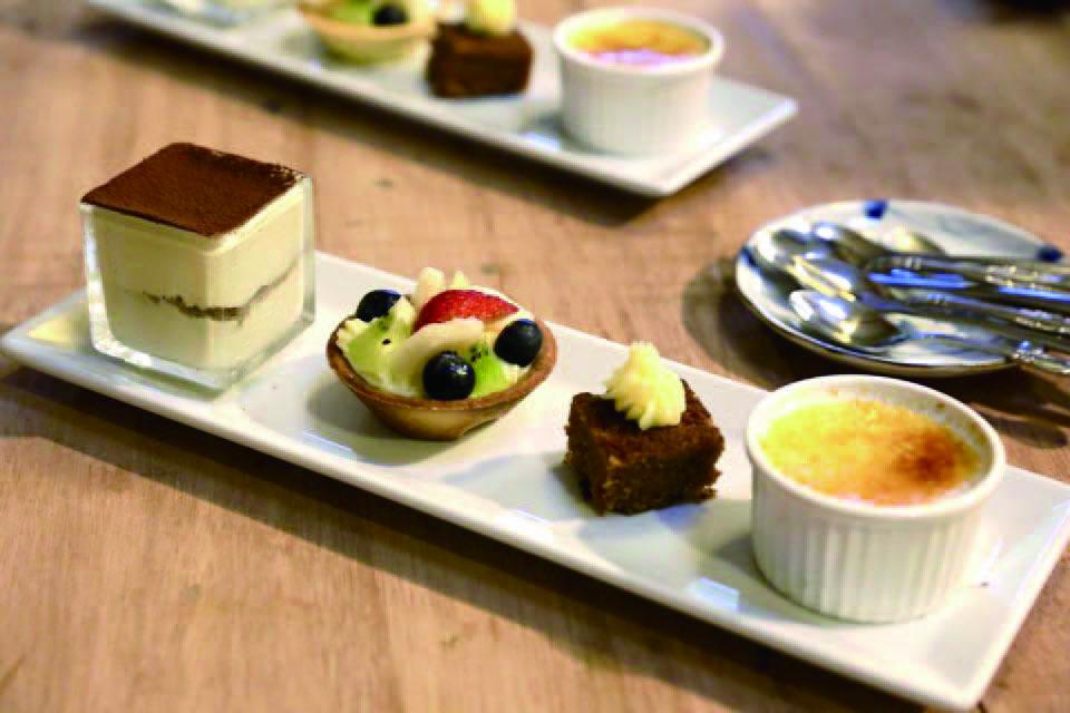 台灣/北海岸/法國藍帶甜點/烤布蕾/水果塔/2k週末食堂
