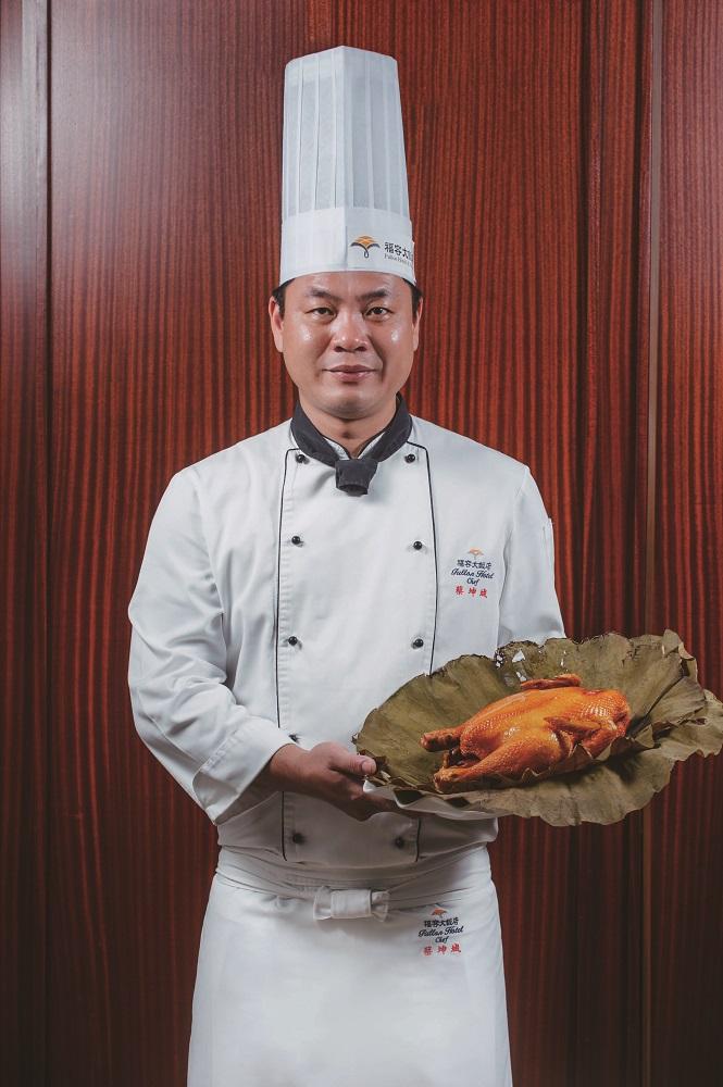 料理教室/花蓮小吃/花蓮必吃/蔡坤城主廚/福容大飯店/爐烤梅子雞