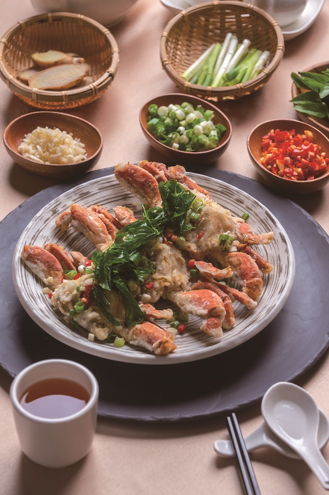 料理教室/花蓮小吃/花蓮必吃/蔡坤城主廚/福容大飯店/炸螃蟹
