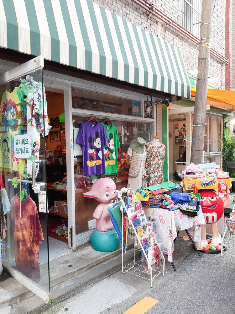 店家外觀/Subaco/首爾買物/首爾商店/韓國旅遊