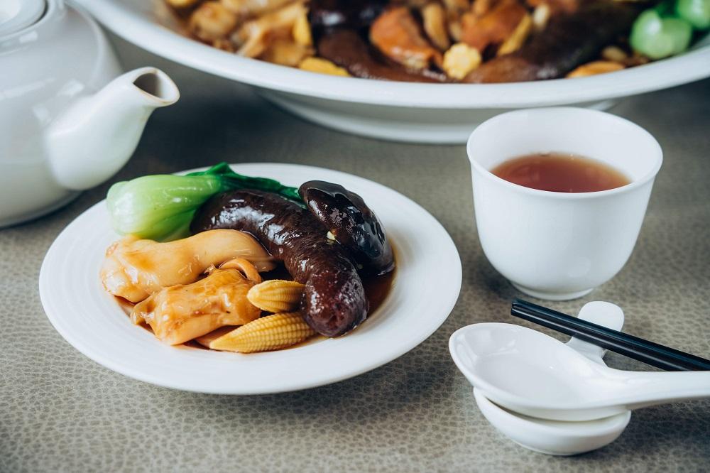 福容大飯店/江浙菜/桃園/螺鮑百燴鮑鮮脆