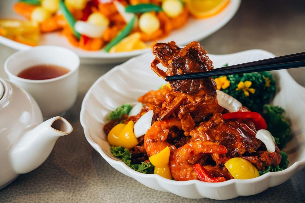 福容大飯店/江浙菜/桃園/豉椒醬爆蝦蟹煲
