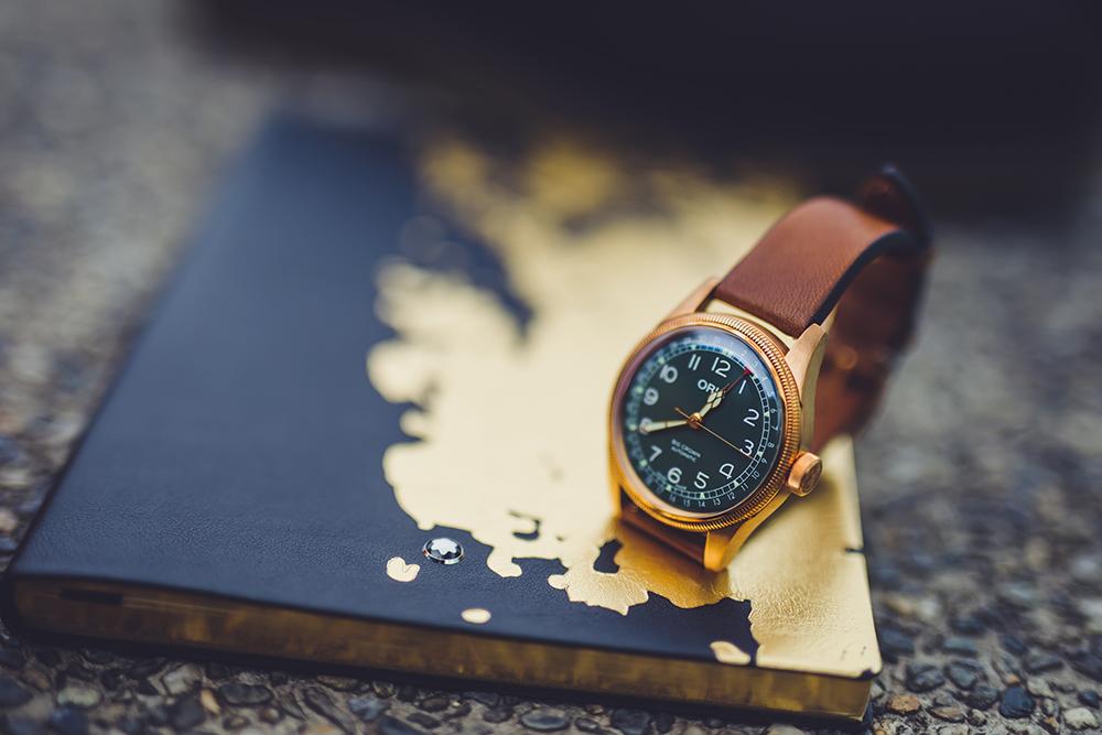 Oris Big Crown 指針式日期錶80週年紀念版腕錶/旅人誌/TRAVELER luxe