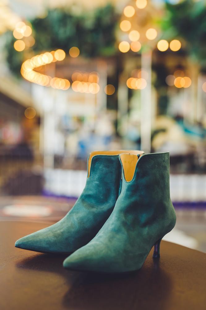 a.testoni 麂皮踝靴/旅人誌/TRAVELER luxe