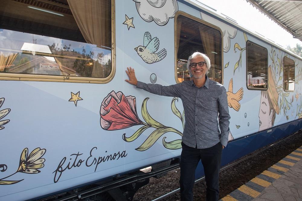 Belmond/秘魯/馬丘比丘/奢旅列車/流動中的藝術/Fito Espinosa