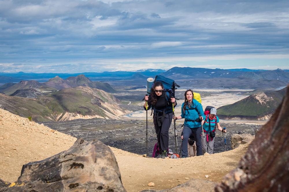 Laugavegur Trail/冰島/中部高地/旅遊/健行/世界最美健行路線/彩色山脈