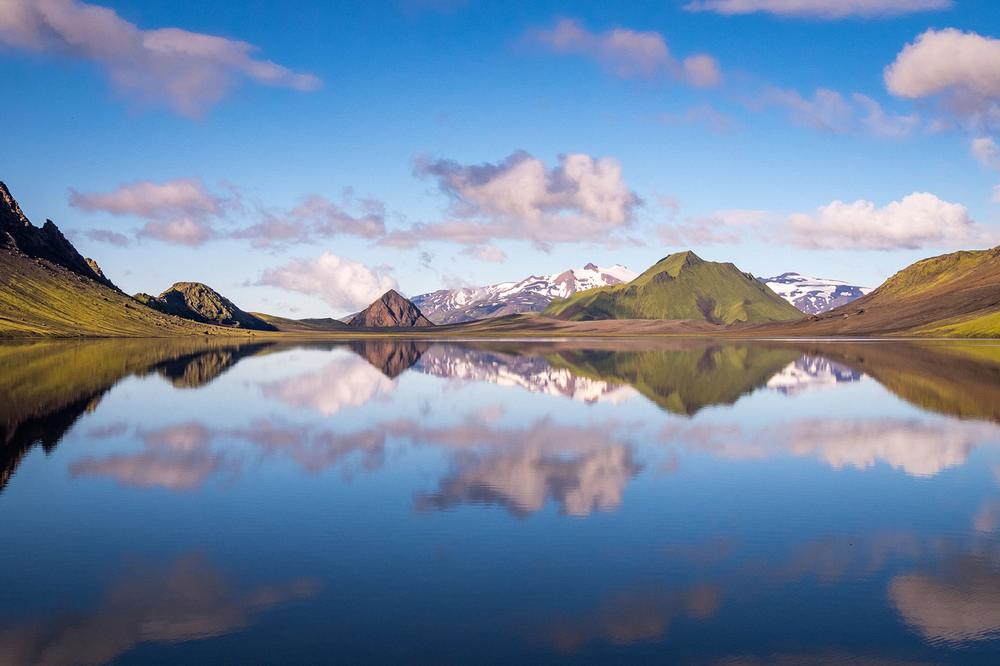 Laugavegur Trail/冰島/中部高地/旅遊/健行/高地湖