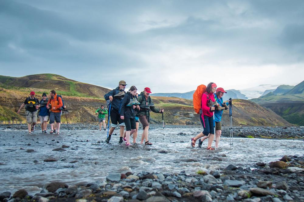 Laugavegur Trail/冰島/中部高地/旅遊/涉水健行/世界最美健行路線