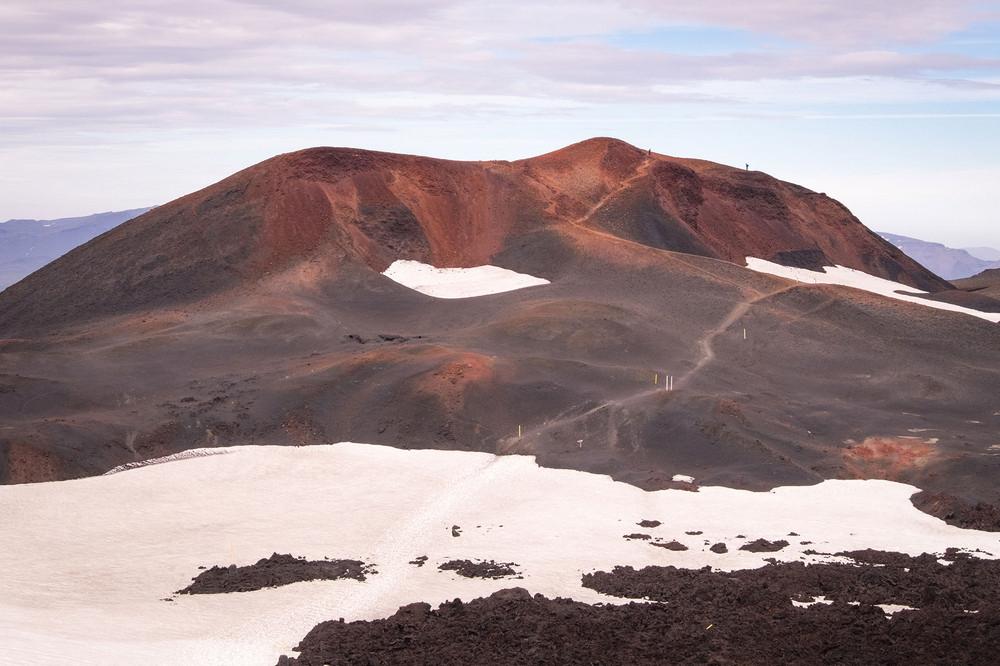 Fimmvörðuháls/冰島/中部高地/旅遊/高地古道/健行/高山