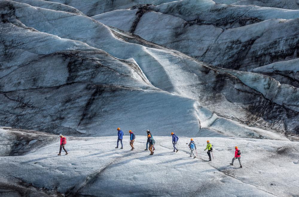 Vatnajökull/冰河國家公園/冰島/旅遊/世界遺產/冰河健行
