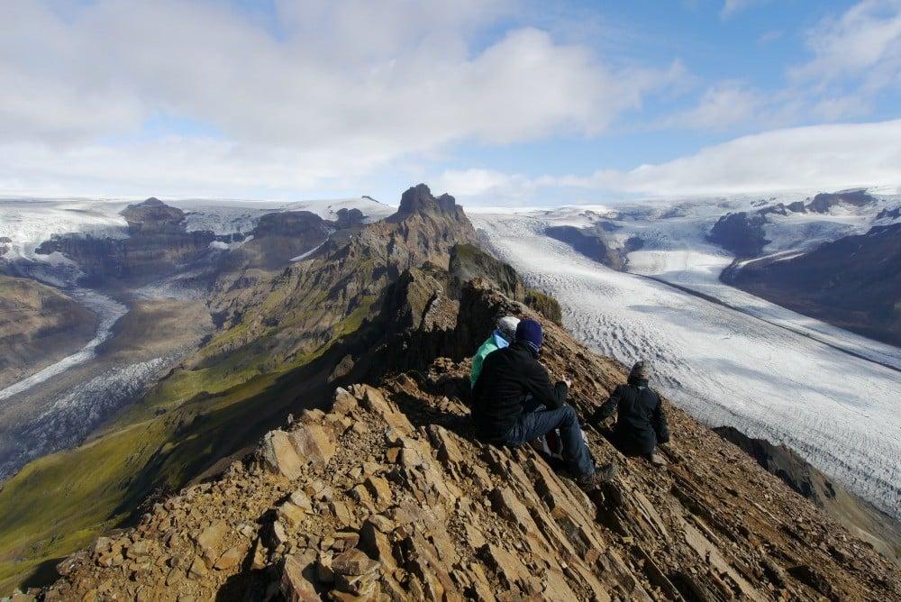 Skaftafell/冰河國家公園/冰島/旅遊/世界遺產/冰河綠洲/健行