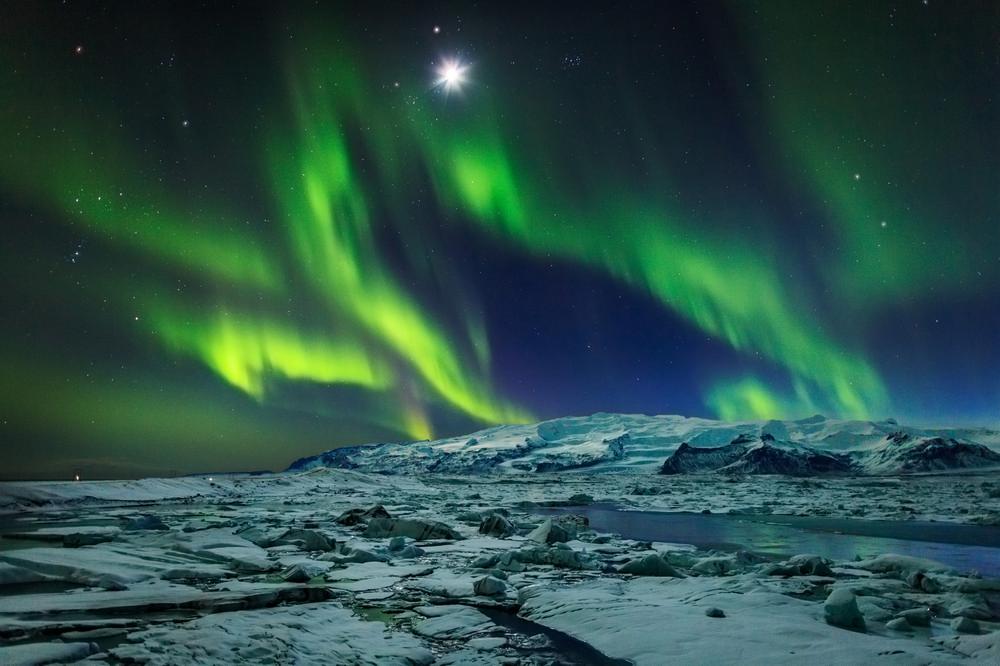 Jökulsárlón/冰河國家公園/冰島/旅遊/世界遺產/冰河湖/極光