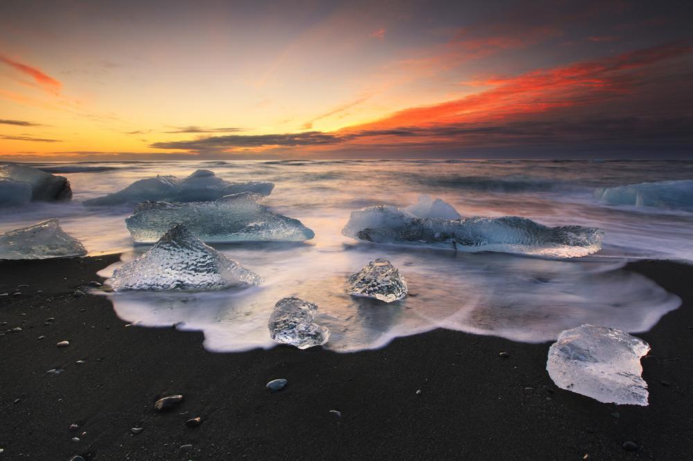 Jökulsárlón/冰河國家公園/冰島/旅遊/世界遺產/鑽石海灘