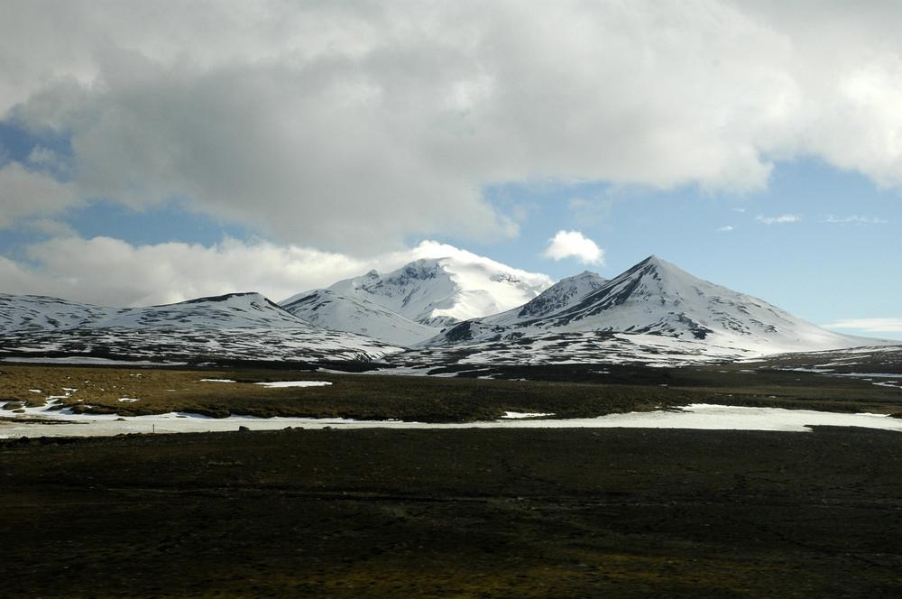 Snæfell/冰河國家公園/冰島/旅遊/世界遺產/冰島最高孤峰