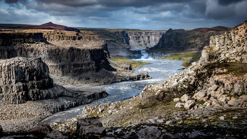 Jökulsárgljúfur/冰河國家公園/冰島/旅遊/世界遺產/冰河川峽谷