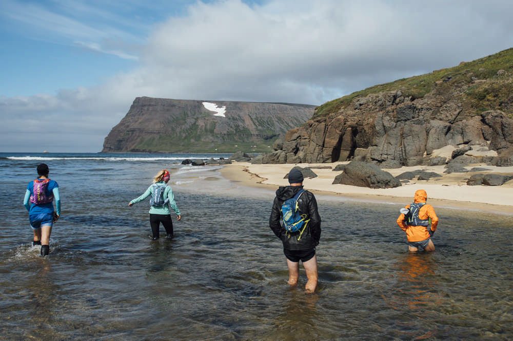 Hornstrandir/冰島/西峽灣/長跑/極限運動/歐洲最後的荒野/涉水