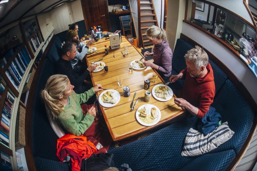 Hornstrandir/冰島/西峽灣/長跑/極限運動/帆船/晚餐