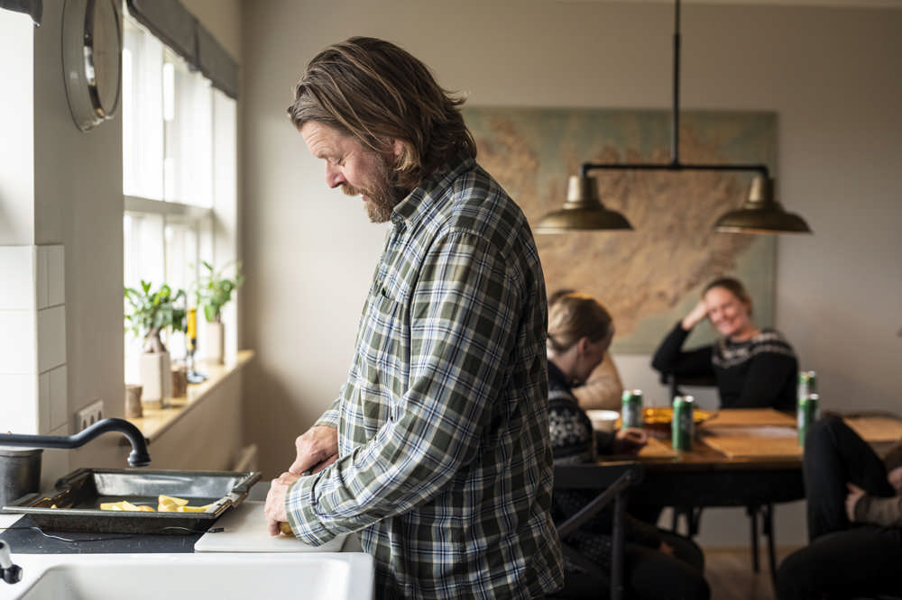 Black Beach Riding Retreat/冰島/冰島馬/Airbnb/晚餐