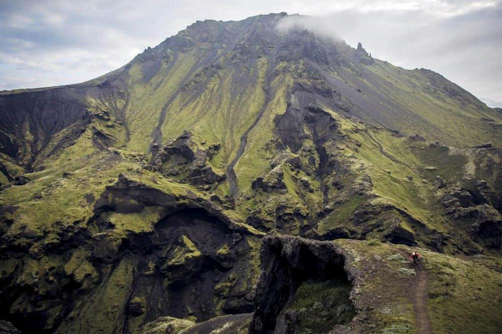 冰島/登山越野車/單線山徑/火山 Eyjafjallajökul