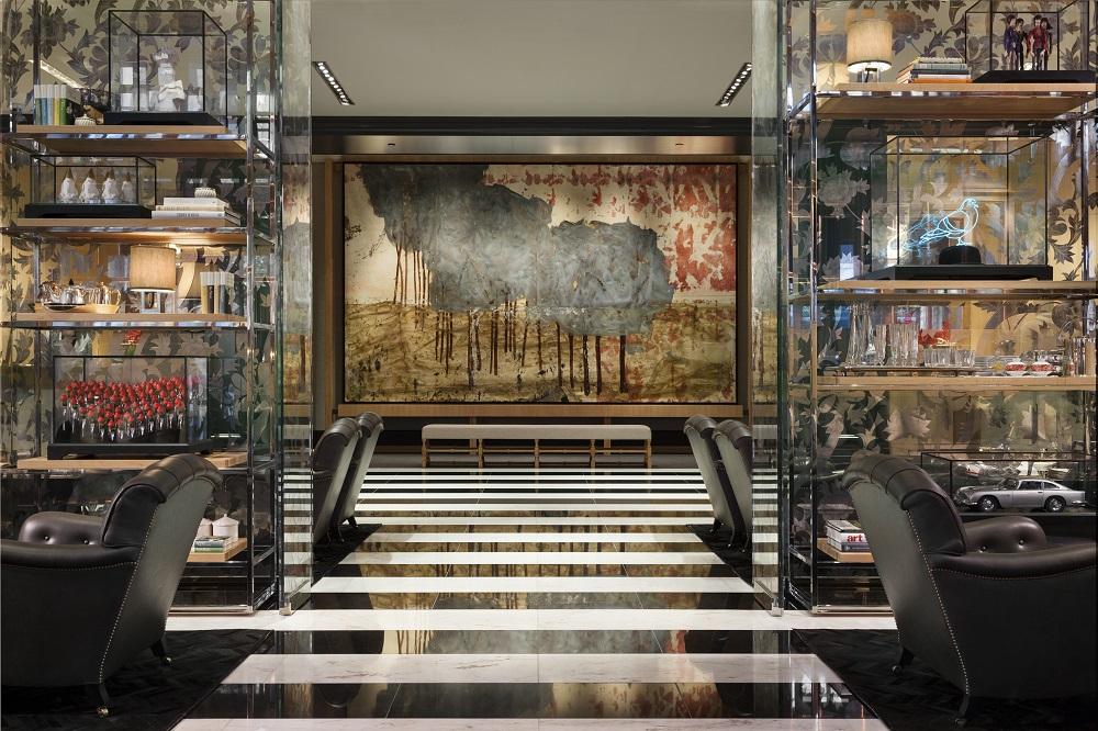 Rosewood London/倫敦/英國/英倫復古/現代設計/藝術畫作