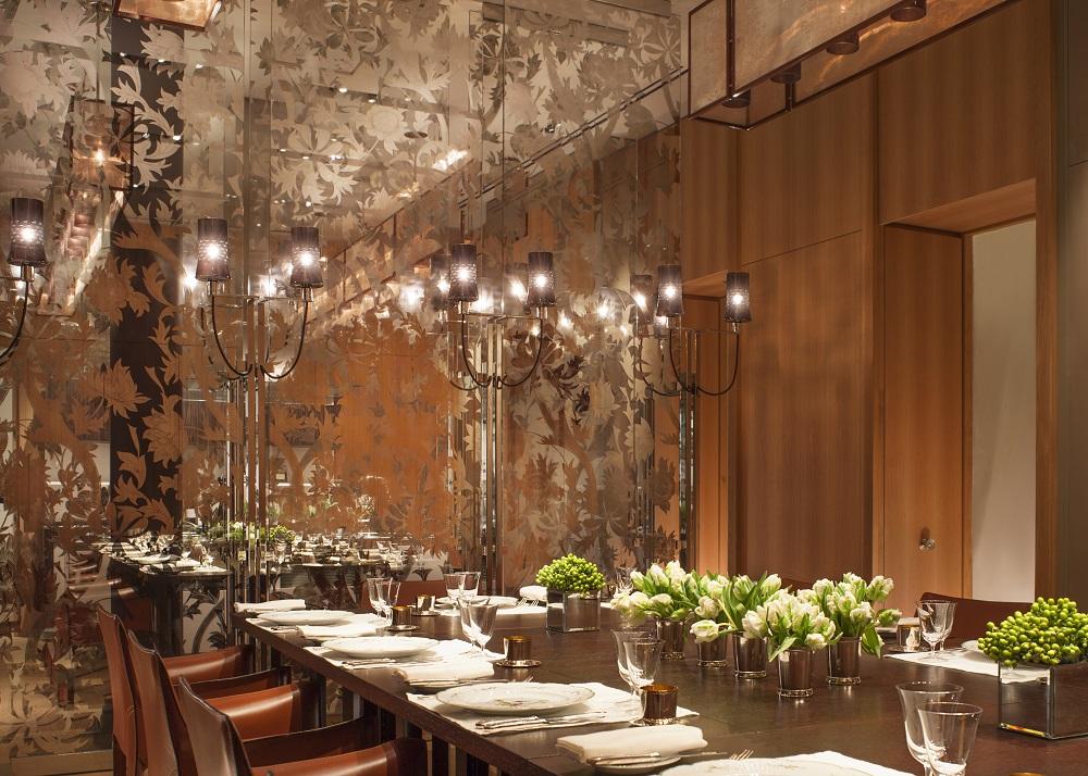 Rosewood London/倫敦/英國/英倫復古/餐廳