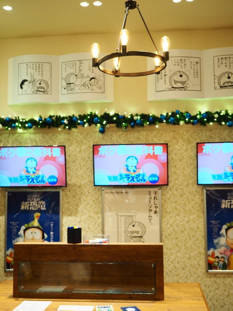 哆啦A夢未來百貨/哆啦A夢官方專賣店/電視/電影海報/日本/東京台場/日本三井