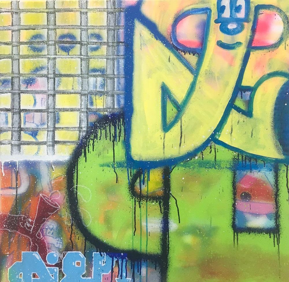 ONE ART Taipei 2020藝術台北/台北西華飯店/Diego/日本Bansky/塗鴉藝術
