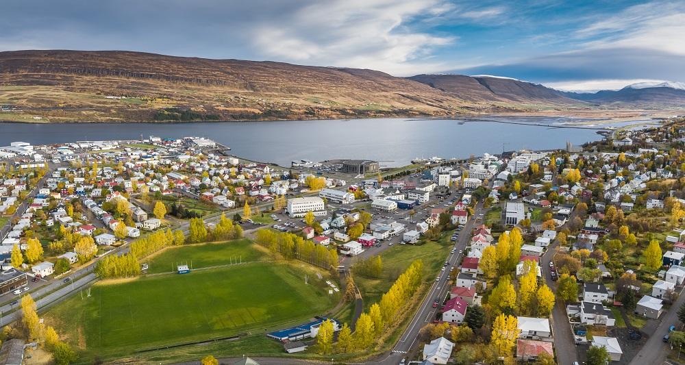 北極海岸公路/冰島自駕/歐洲最佳旅行地點/北極花園之城/Akureyri