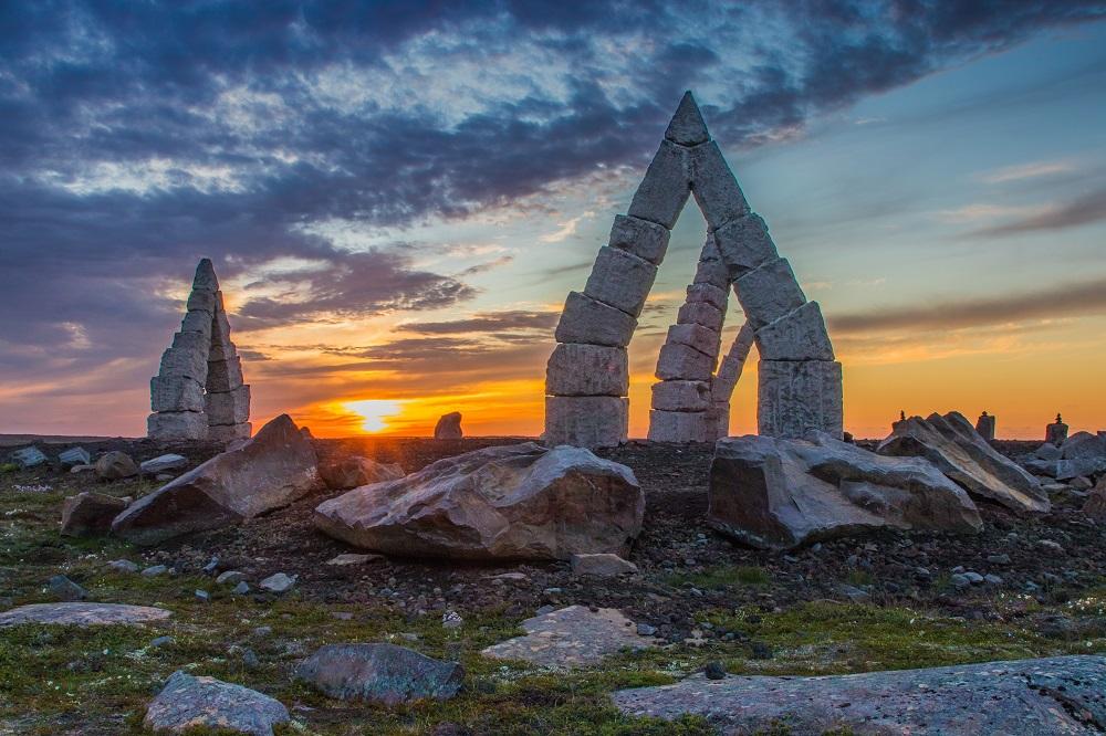 北極海岸公路/冰島自駕/歐洲最佳旅行地點/北極巨石陣