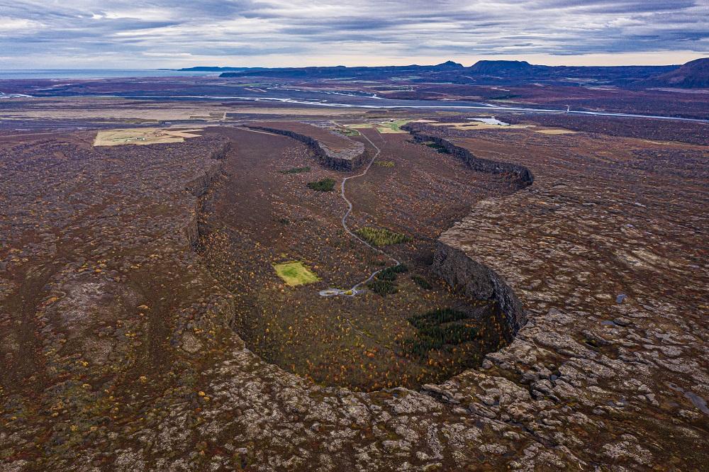 北極海岸公路/冰島自駕/歐洲最佳旅行地點/眾神的庇護所/馬蹄峽谷