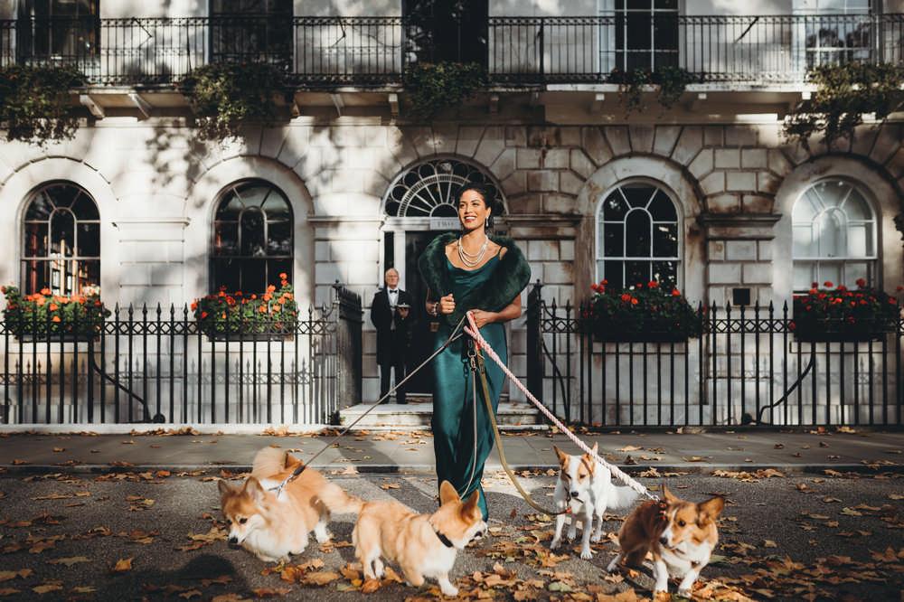 Earl of Fitzroy/倫敦/英國/旅遊/英國皇室體驗/倫敦古蹟/柯基/散步
